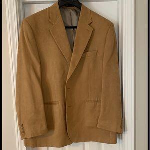 Chaps Camel Colered Men's Jacket, Like New 48 Reg.